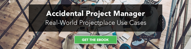 Accidental Project Manager Real-World Projectplace Use Cases eBook