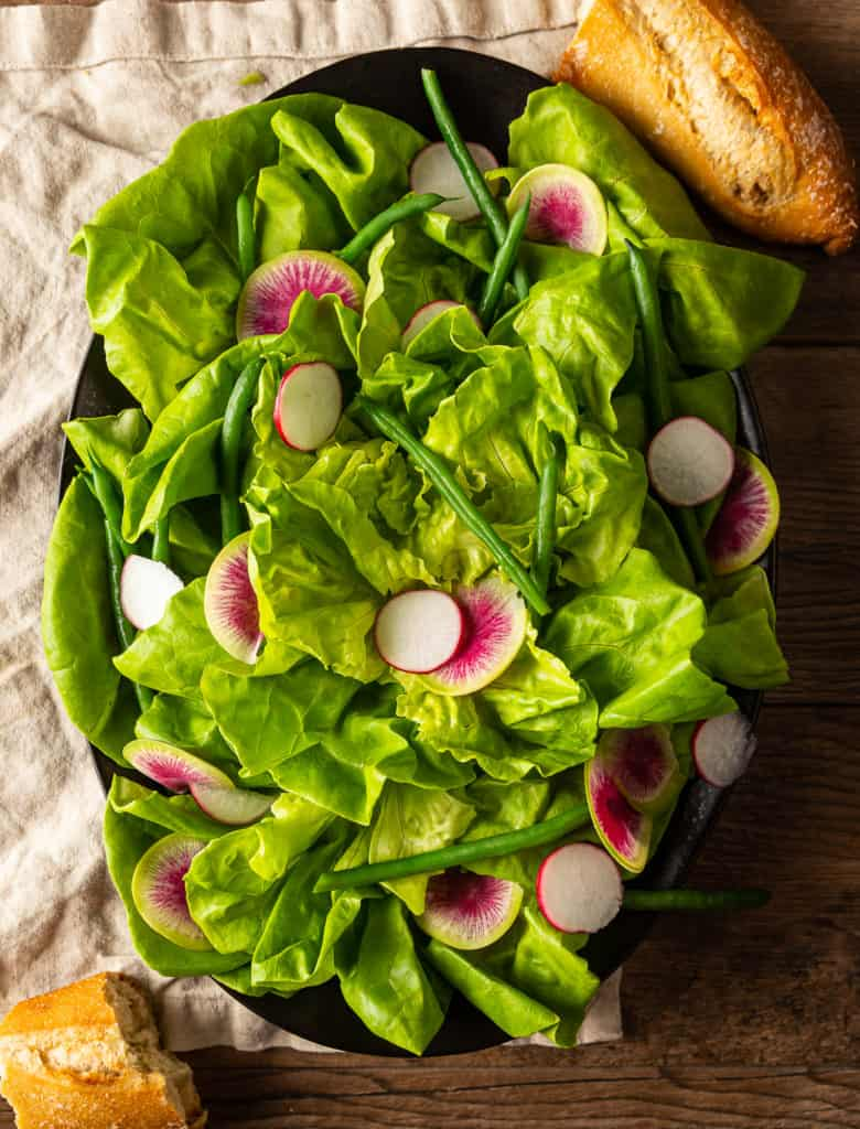 french butter lettuce salad
