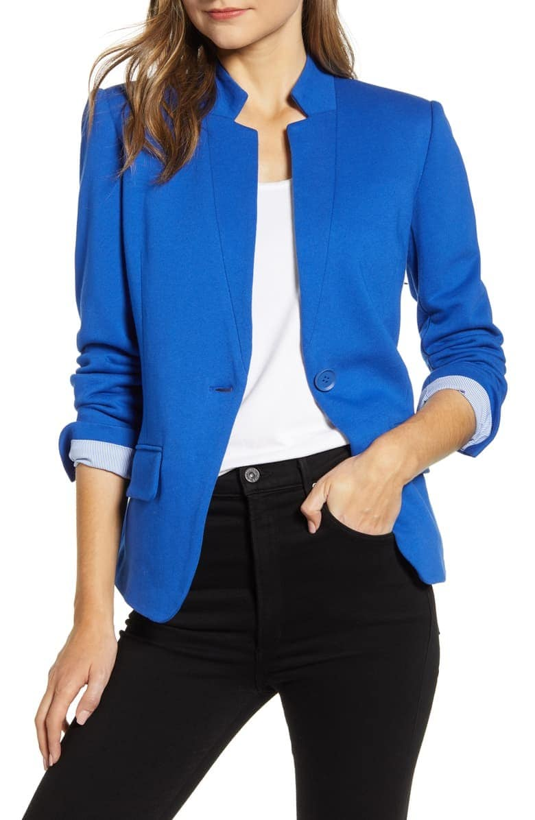 A classy Gibson blazer for formal and casual style