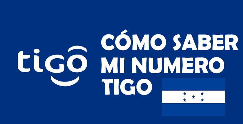 Como saber mi numero Tigo Honduras