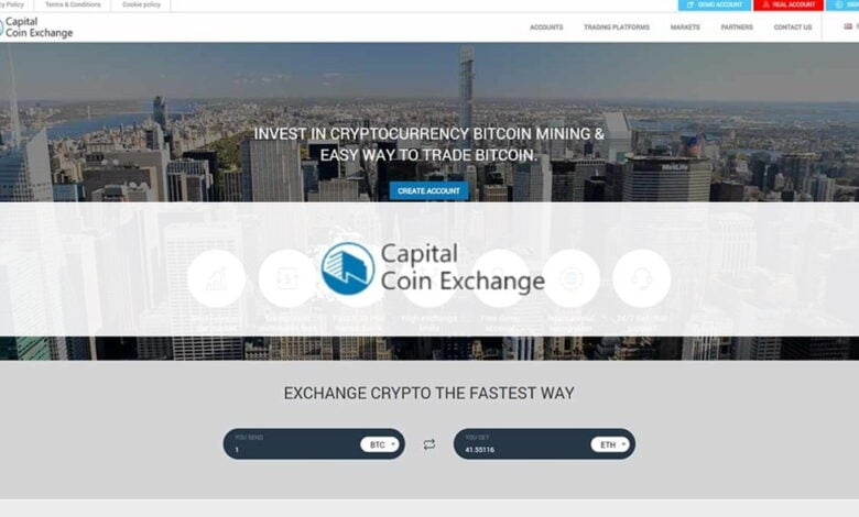 Capital Coin Exchange