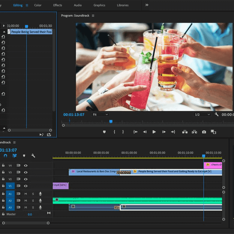 Adobe Premiere Pro CCC - Video Editing Software