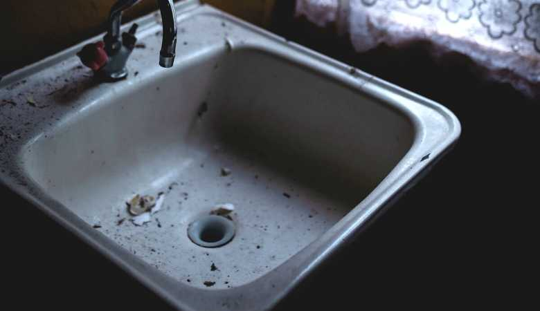 Mighty to save: a sink drain as an analogy of losing something beyond hope