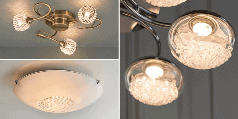 Flush Ceiling Lights - Blog Header