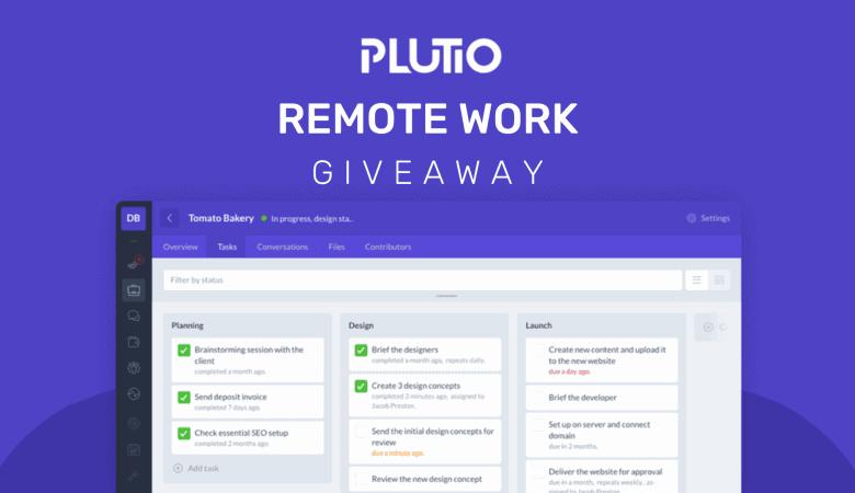 plutio giveaway Techlofy