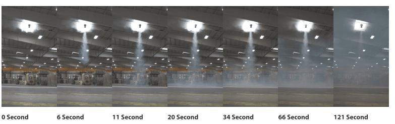 Airius Air Cooling Fans Smoke Test