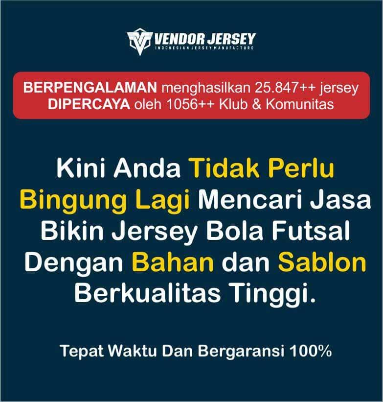 Produsen Jersey Sepakbola Di Yogyakarta