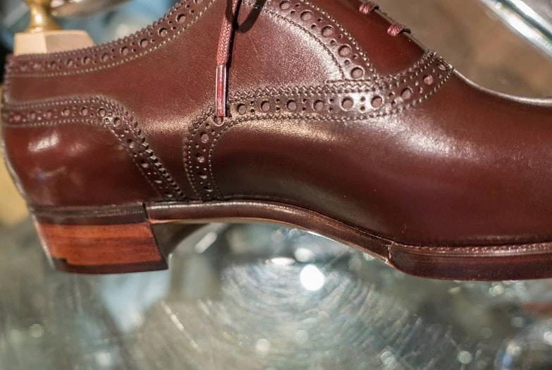 And here's a waist of a Hiro Yanagimachi shoe.