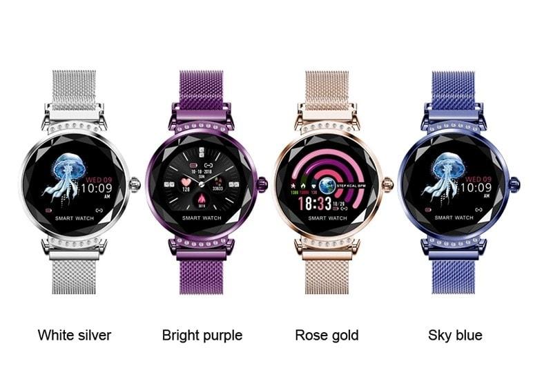 cztery kolory H2 smartwatch damski