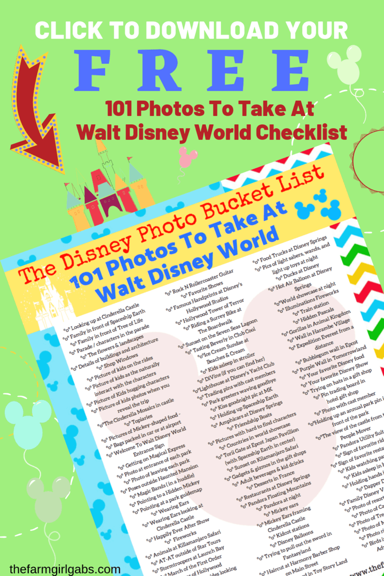 Disney Photo: Ready for the ultimate Disney Photo Bucket List? I gathered some Disney photograph inspiration with these 101 Photos To Take At Walt Disney World.
