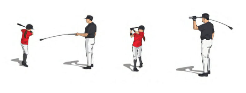 Hit Stick Softball Hitting Drill
