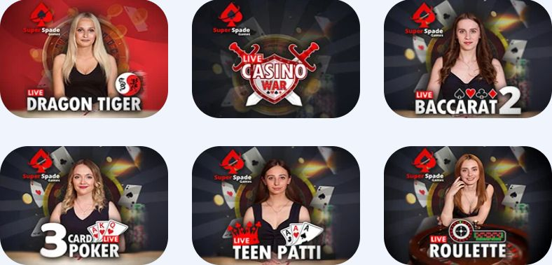 JellyBean Casino Live Games