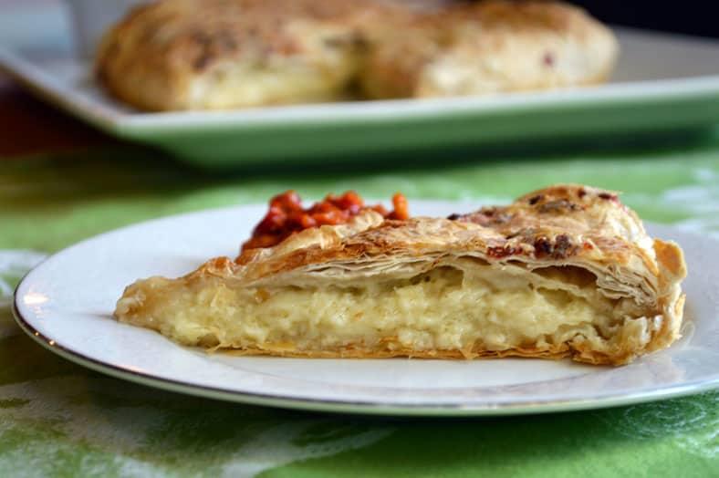 gibanica macedonian food