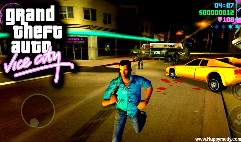 GTA VICE CITY MOD APK v1.09 (Money/Ammo/No Reload) free on Android