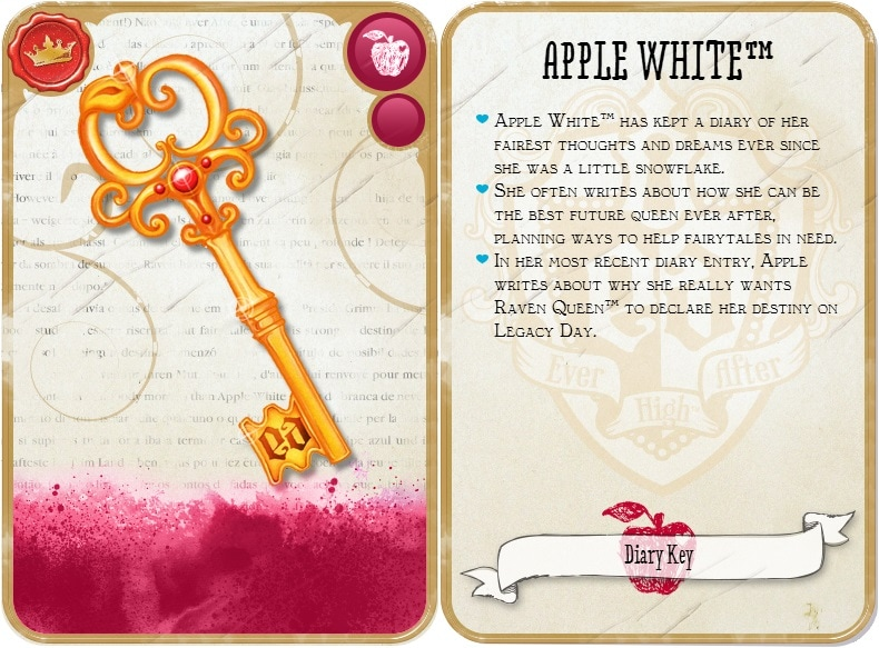 llave apple white