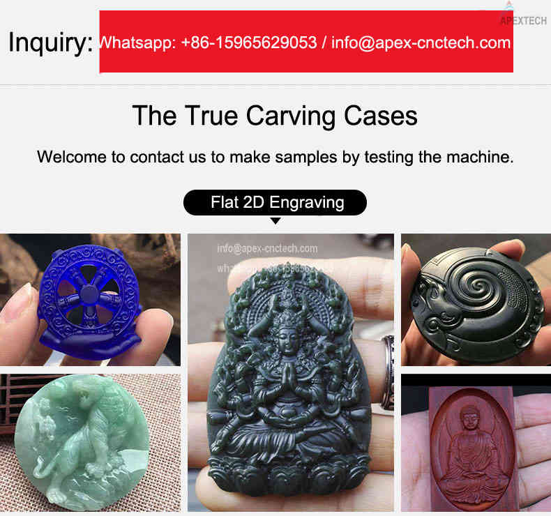 how to engrave stone 3D Circular Carving CNC Machine