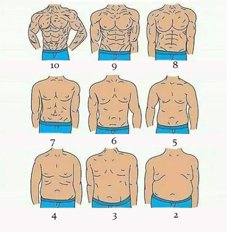 High Definition Liposuction Body Scale