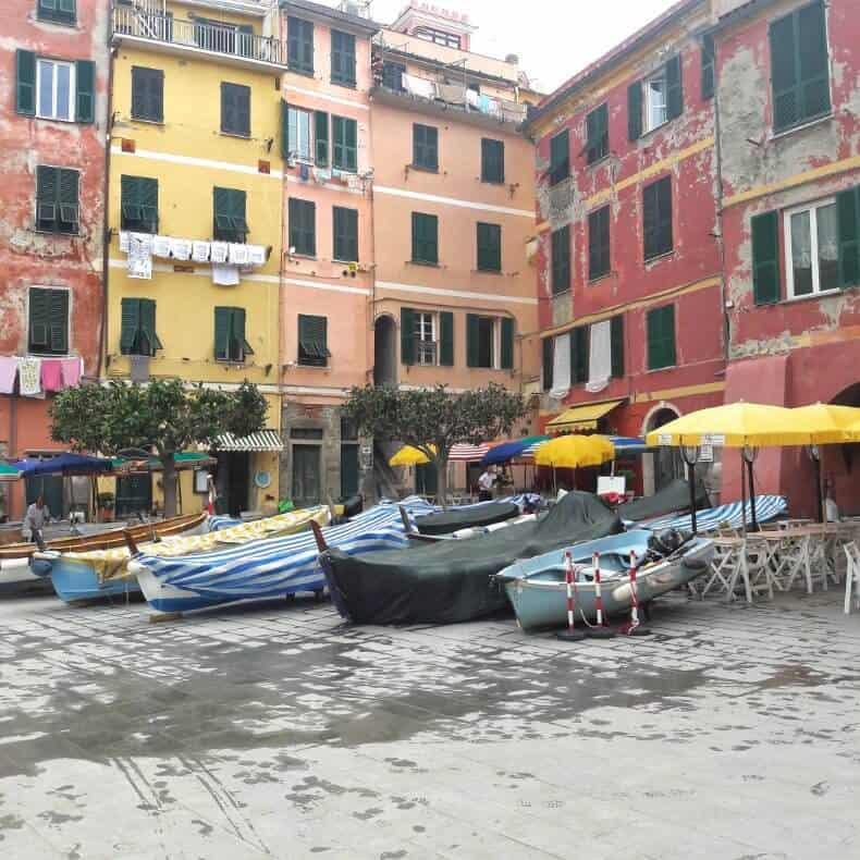 como visitar as Cinque Terre