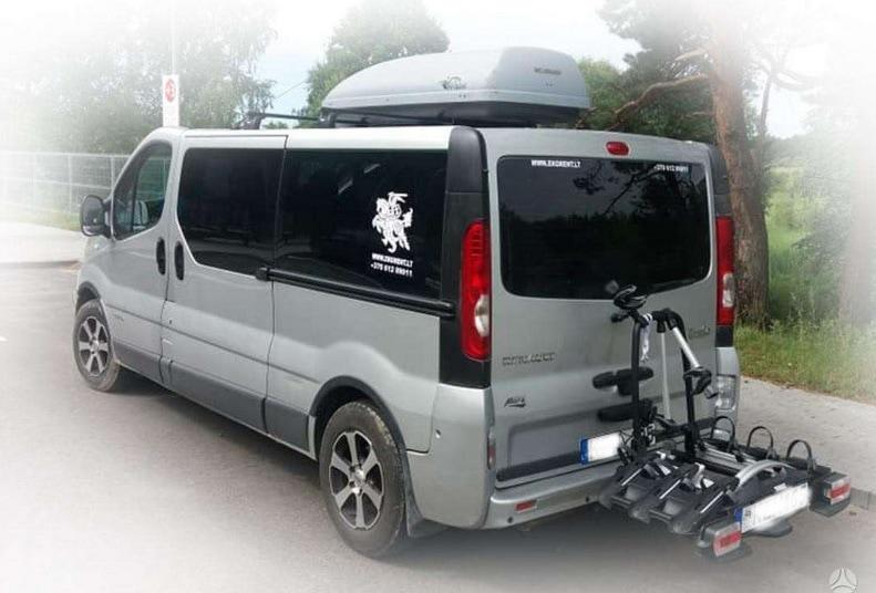 Mikroautobusu-nuoma- stogo bagazine