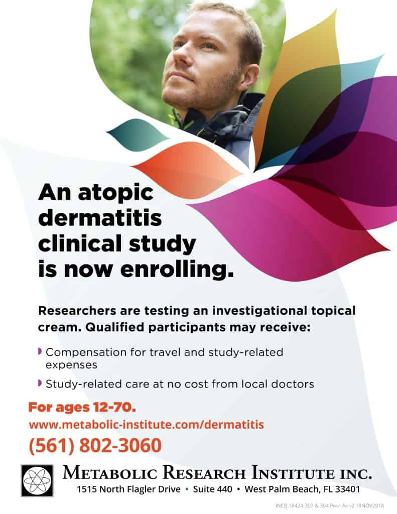Atopic Dermatitis Study Flyer