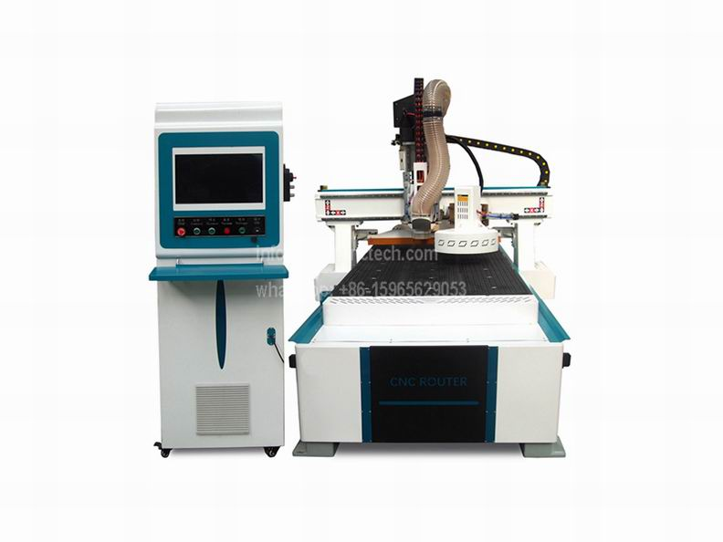 ATC CNC Router with Automatic Tool Changer Spindle Wooden door frame making