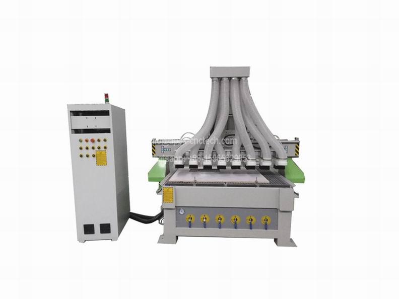 New style 1530SM-6 Spindles Automatic Wood Engraving CNC Router