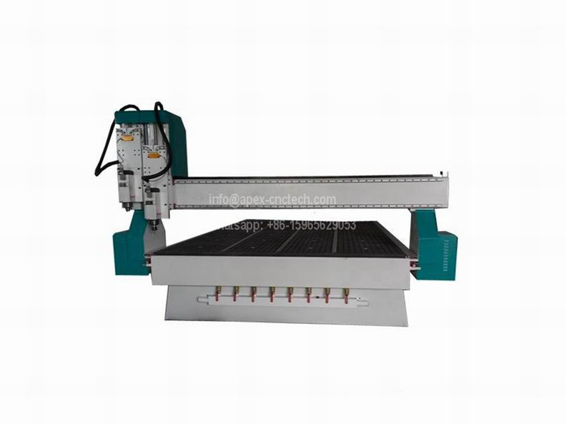 dual spindles wood cnc router with 2030 size low cost price