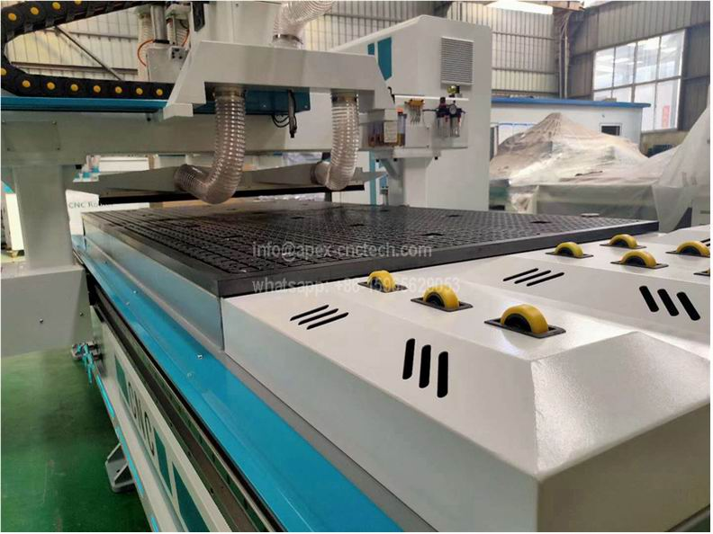 atc cnc router with Pulley feeding device