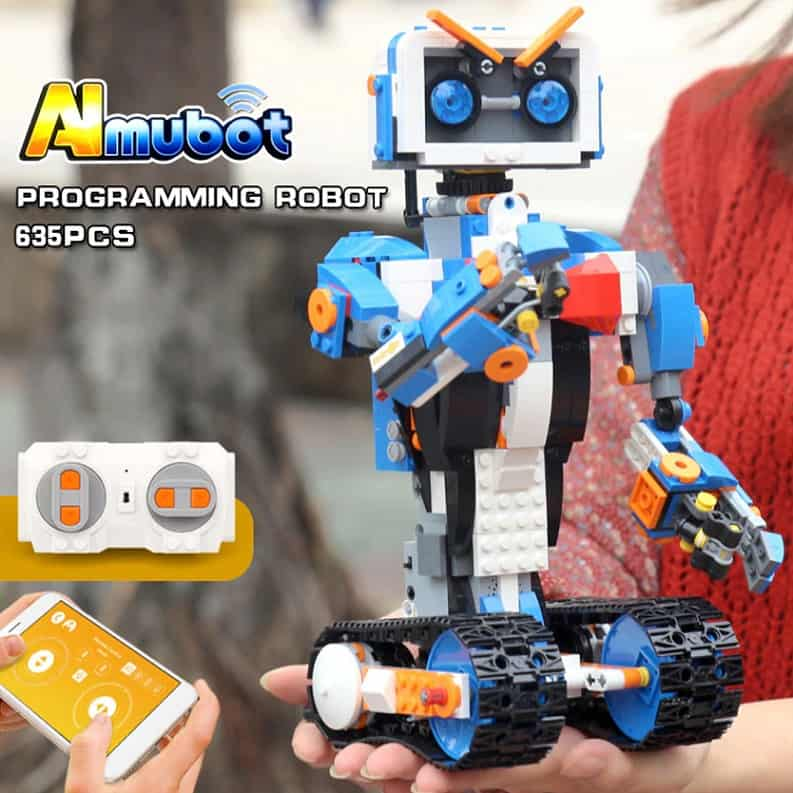 Best AliExpress Lego Replica Top Lego Alternative Cheap Lego Clone Lepin Interactive Robot Remote Control 2