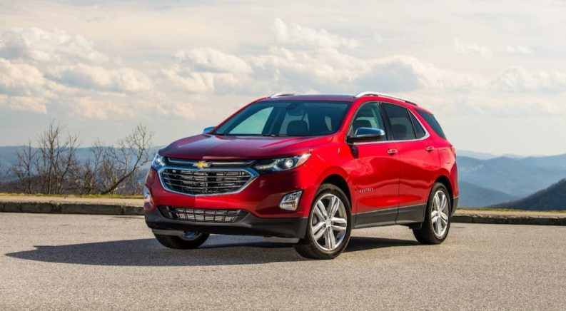 Starting the 2020 Chevy Equinox With a Low Transmitter Battery