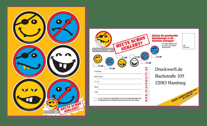Druckwerft Postkarte