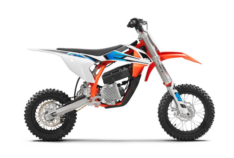 Kids electric motocross bike from KTM