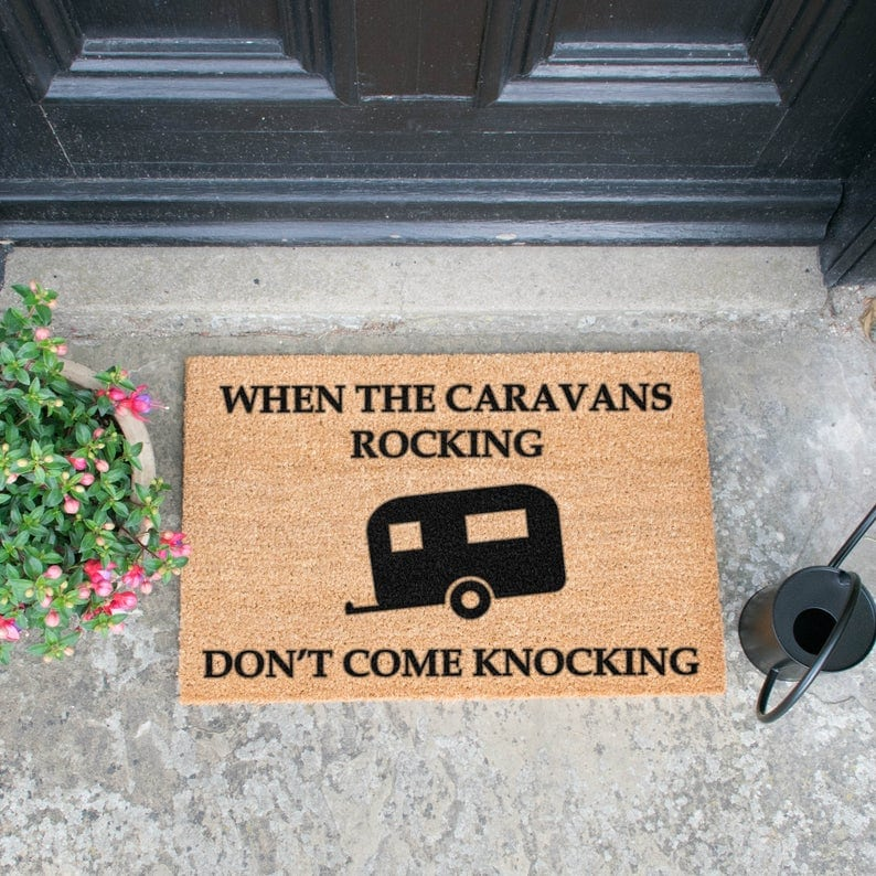 caravan pimpen - Deurmat