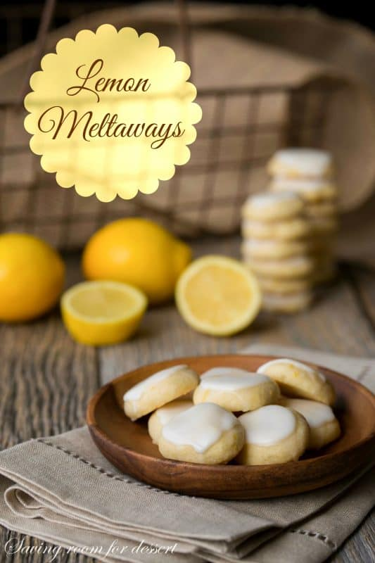Lemon Meltaways - a bright little cookie that is tart, sweet and buttery
