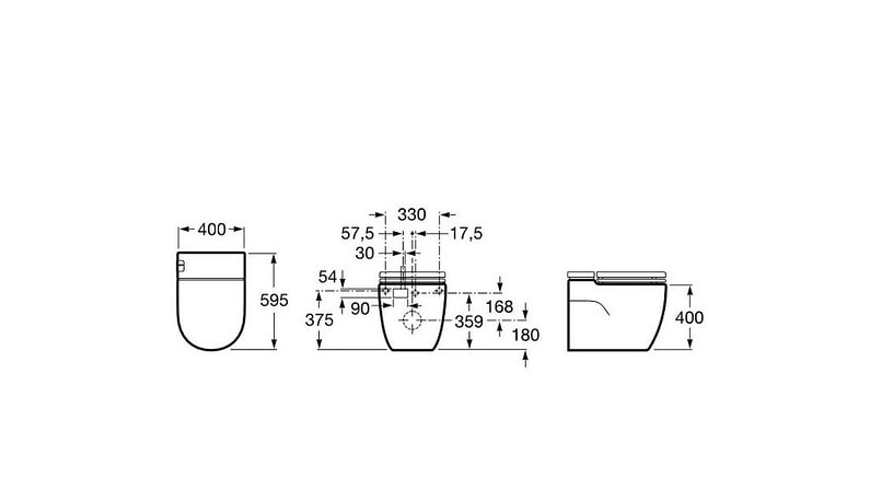 medidas roca meridian in tank