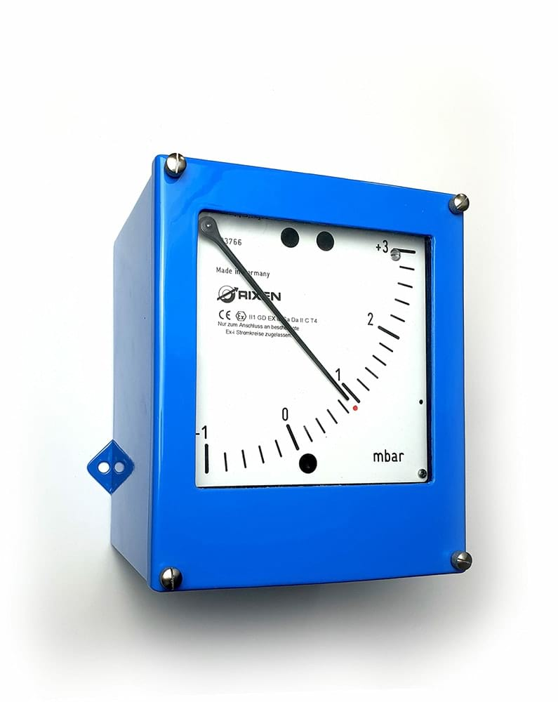 Differenzdruckmessgerät Eigensicher RW65_EX_II / Differential pressure gauge RW65_EX_II for Ex-Zone