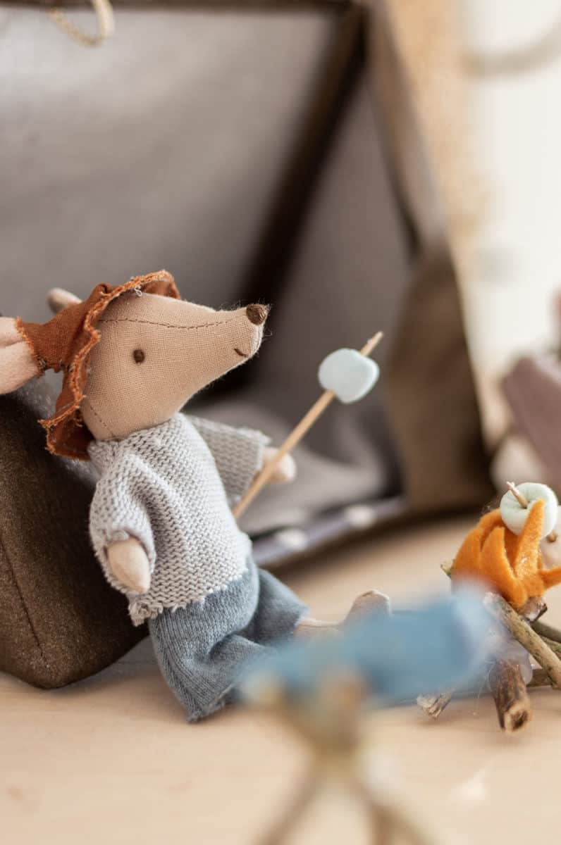 Nähen für die Maileg Mäuse – Kleidung mit Schnittmuster