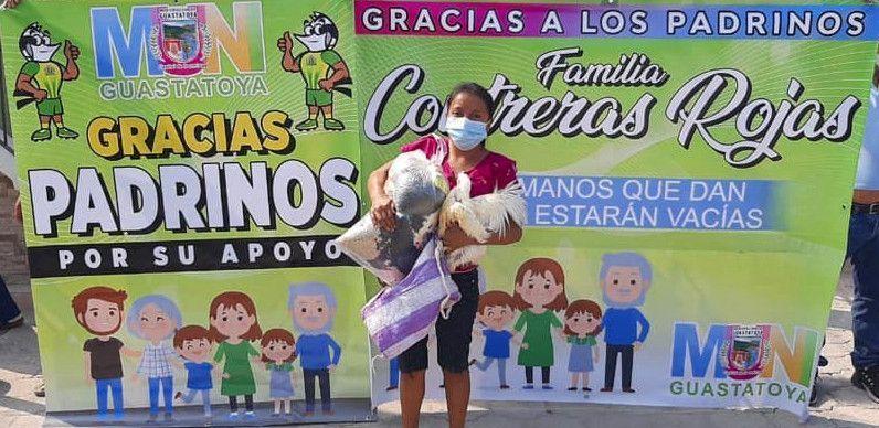 Apadrinar familias en Guastatoya