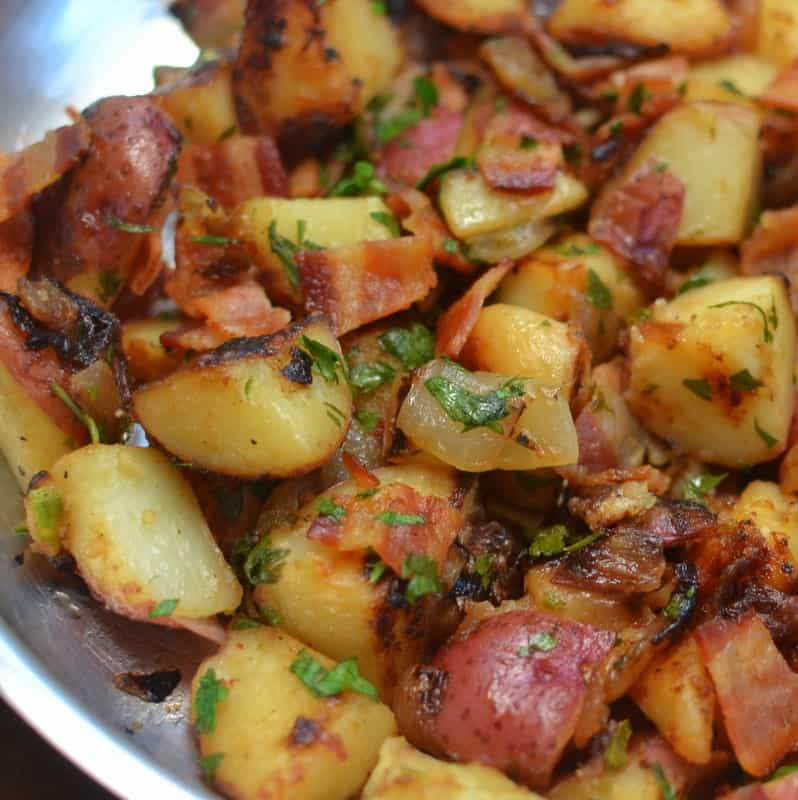 Mouthwatering Good Skillet German Potato Salad