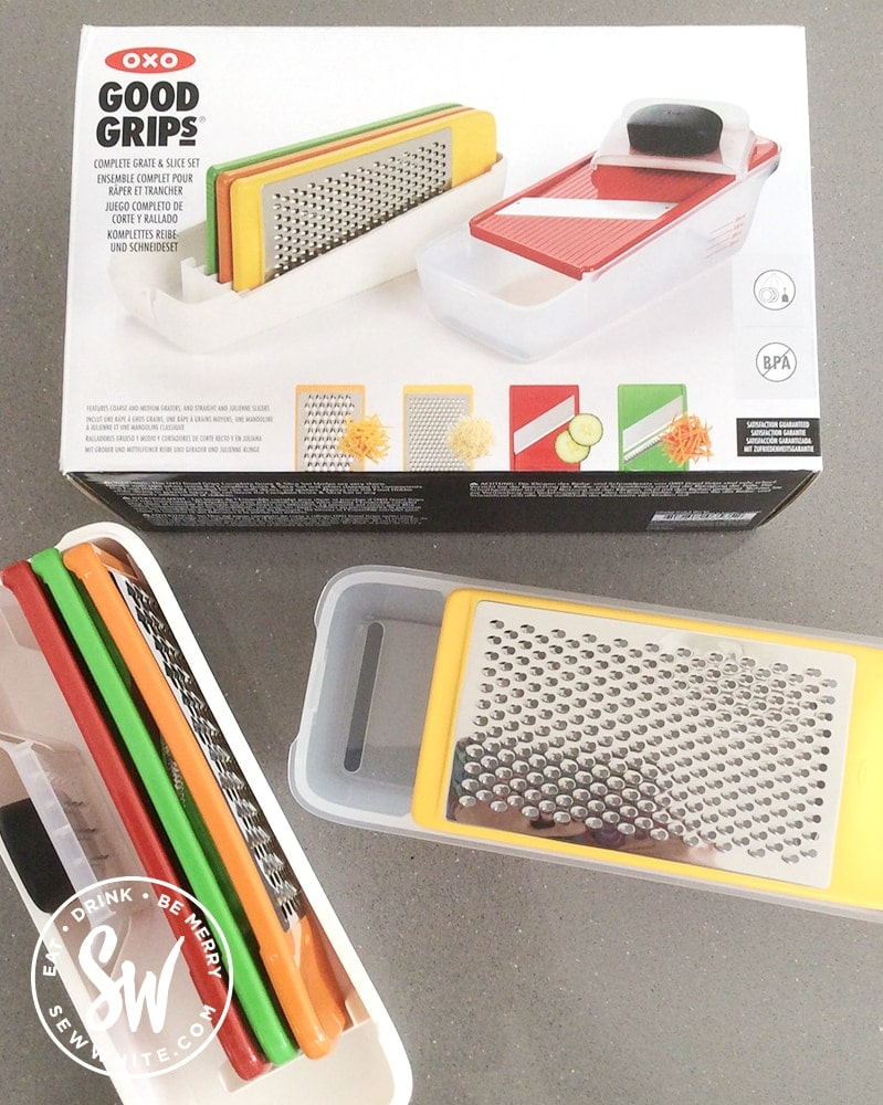 OXO good grips grater set