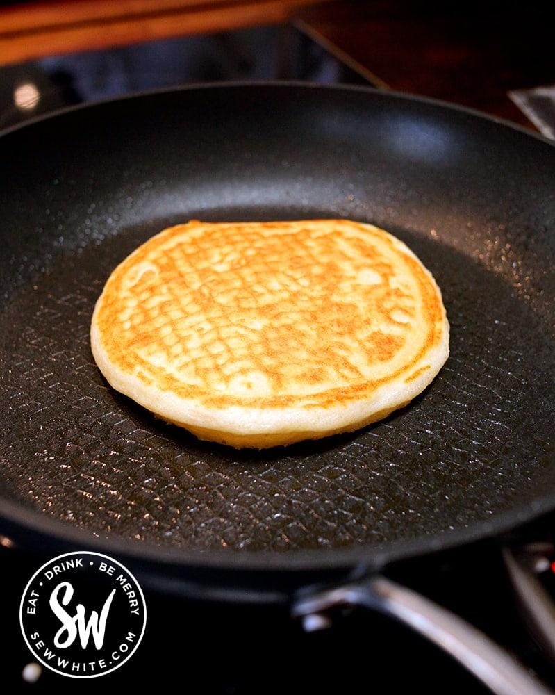 A Scotch Pancake in the frying pan