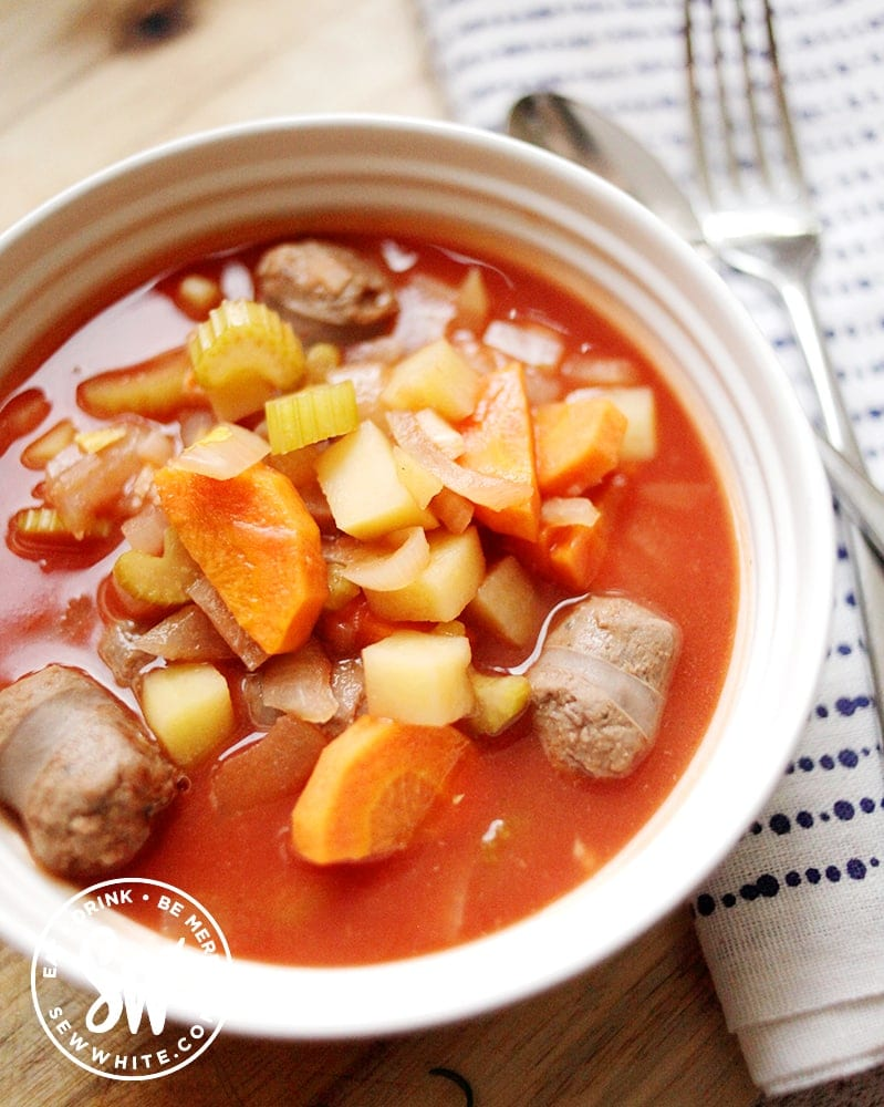slow cooker venison stew