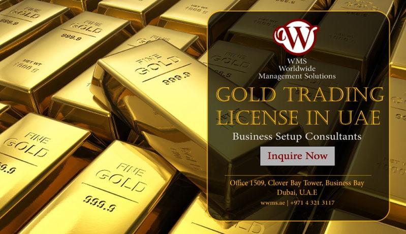 gold trading license in uae