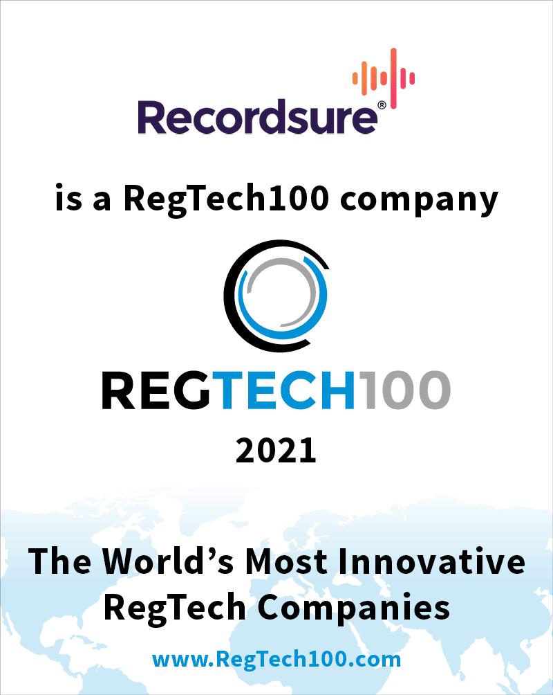 Recordsure RegTech100 Company