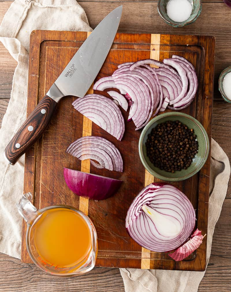 how to make pickled onions