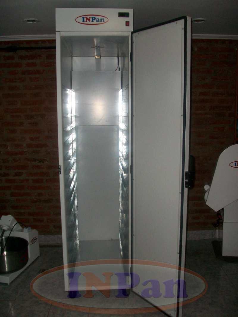 Camara fermentacion 15 bandejas 70x45cm Inpan