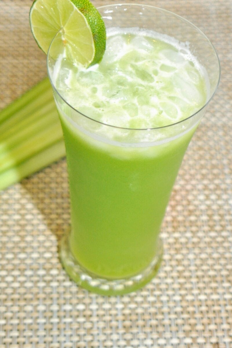 celery ginger juice
