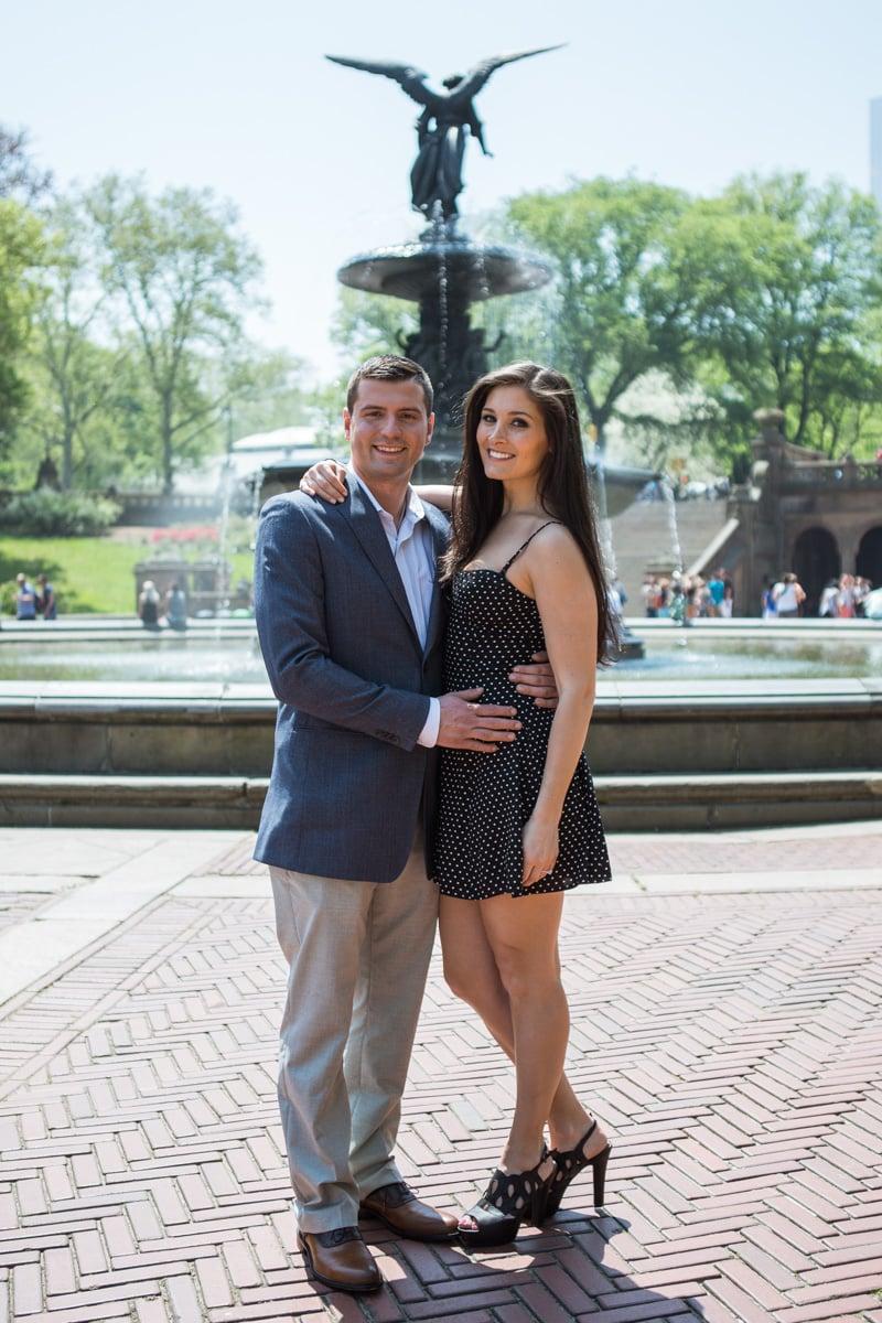 Photo 5 Bethesda fountain Central park Proposal | VladLeto