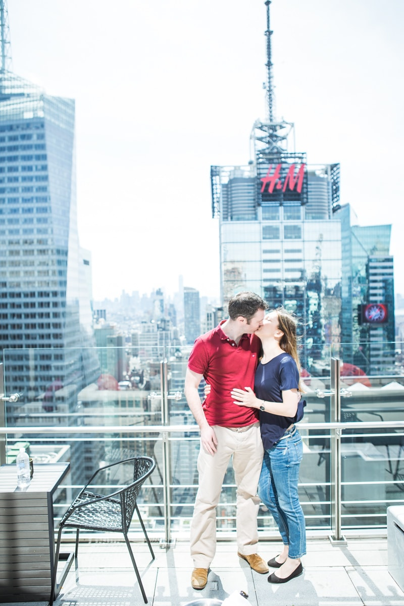 Photo 21 Marriage proposal at roof top of Hayt Times square. | VladLeto