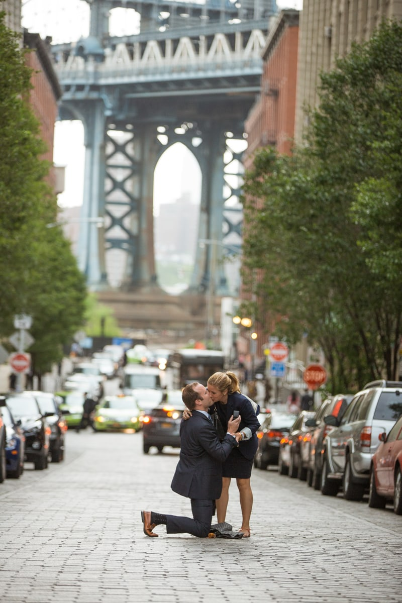 Photo 3 Secret Proposal in Dumbo, Brooklyn | VladLeto